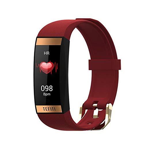 XXH Smart Watch E78 Pulsera De Las Mujeres para Hombres, Reloj Inteligente Deportivo Monitor De Ritmo Cardíaco Monitor De La Presión Arterial Reloj De Las Damas iOS Y Andriod,A