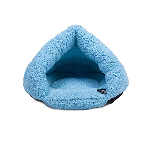 Souarts huisbed hondenmand kattenholle huisdier bed warm slaapzak mat kussen hondenhut voor honden katten