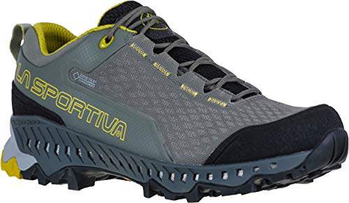 La Sportiva Womens Spire GTX Low Profile Hiking Boot, Clay/Celery, 7.5