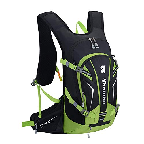 MountRise-Bags - Mochila para bicicleta (15 L, impermeable, transpirable, con funda para...