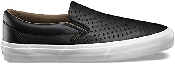 Vans Men Classic Slip-On Dx - Havana Perforated Leather Black