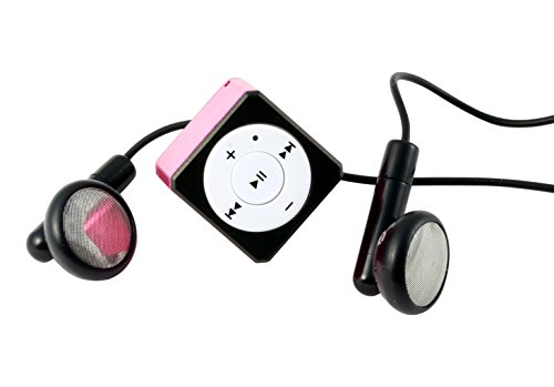 MusicMan Mini Style MP3 Player TX-52 pink