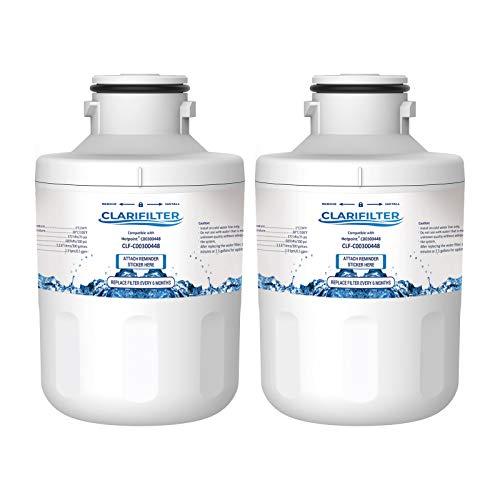 Clarifilter C00300448 Wasserfilterpatrone für Kühlschrank kompatibel mit Hotpoint C00300448, SXBD922FWD, SXBD925FWD; Caple CAFF205; Thomson THSBS90WDWH; Microfilter MFCMG14211F, MFCMG14211FR (2)