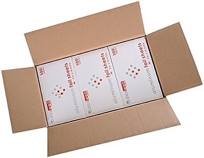 Daxwell Aluminum Foil Sheets, Interfolded from Daxwell