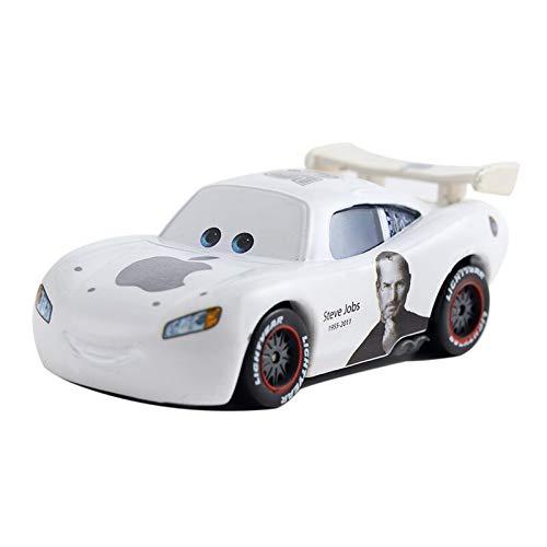 Disney Cars Disney 1:55 Metal Disney Pixar Car 3 Lightning Mcqueen Miss Fritter Alloy School Bus Yellow Collection Disney Boys Toy Car 24
