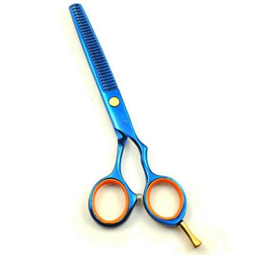 MFFACAI Friseur Schere Haar Ausdünnung Schere Haar Schere Frisur Ausrüstung Dichte Zähne zu Haar Volumen 5,5 Zoll