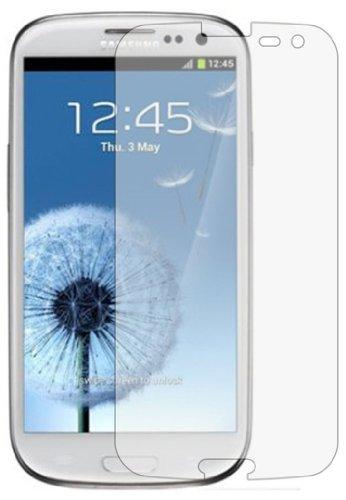 Membrane 3 x Pellicola Protettiva Compatibile con Samsung GT-i9300 Galaxy S3 SIII (GT-i9300 / i9301 S III Neo / i9300i S3 Neo/Galaxy SIII Neo+ / GT-i9308 / S3 Duos) - Trasparente