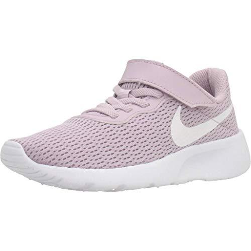 Nike Tanjun (PSV) Sneaker, Ice Lilac/White, 33 EU