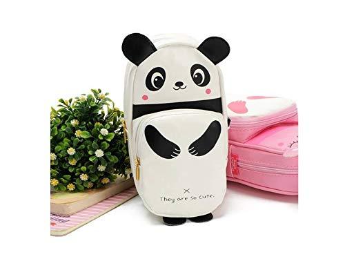 Carls london White Panda Pencil Case Pencil Pouch for Girls & Boys , Students , Kids