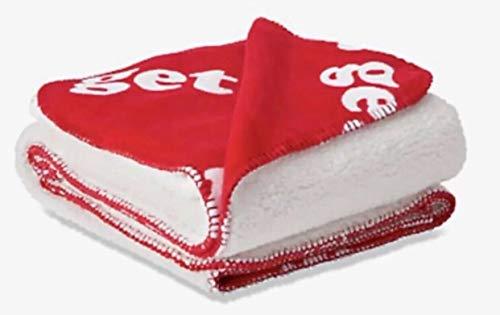 Victoria'sSecret. Pink Cozy Sherpa Blanket Throw Super Soft