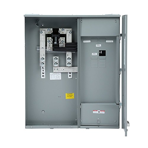 Siemens MC0816B1400SC Meter-Load Center Combination, 8 Space, 16 Circuit, 400-Amp, Main Breaker, Surface Mount
