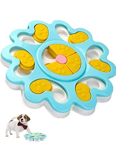 Interaktives Hundespielzeug, interaktives Fütterungsspielzeug für Puzzle-Slow-Food, rutschfester, intelligenter Trainingsspiel-Futterspender Welpensnackspender