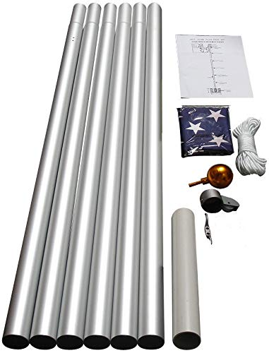 WindStrong Residential Flag Pole
