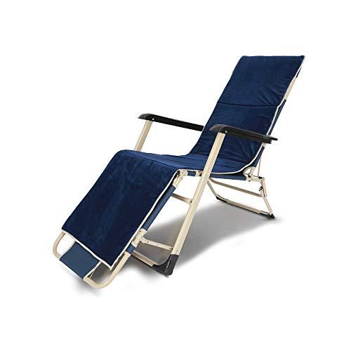 YQQ-Chaise pliante Tapis D'éponge Heure du Déjeuner Lit Pliant Fauteuil De Repos Petit Lit De Camp 178 * 76 * 66CM