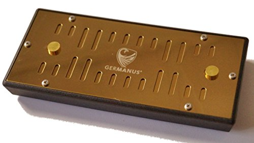 GERMANUS Humidor Befeuchter Kassette XL Gold