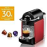 Nespresso-Pixie-EN124R-Macchina-per-caffe-Espresso-di-DeLonghi-1260-W-Plastica-Rosso-Metallo