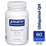 Pure Encapsulations Ubiquinol-QH CoQ10 100mg - 60 Softgel Capsules - Active Form of Co-Enzyme Q10