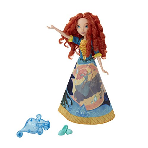 Hasbro Disney Prinzessin B5301ES0 - Merida in magischem Märchenkleid, Puppe