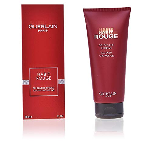 Guerlain Habit Rouge All Over Shower Gel, 1er Pack (1 x 200 ml)