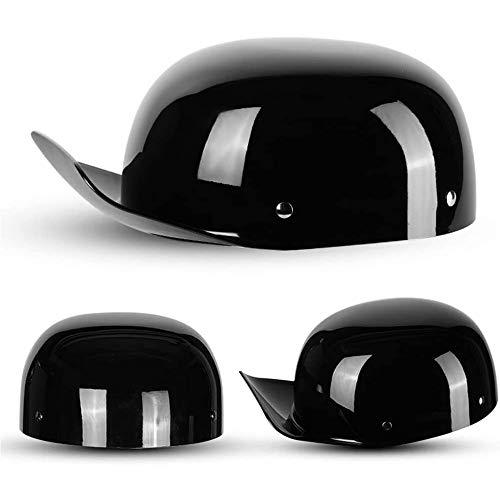 Ssmmxx Retro Motorcycle Half Helmet for Men and Women,Fashion Baseball Cap Modeling Adult Open-Face Helmet Bike Cruiser Chopper Moped Scooter ATV Helmet DOT Certified,3,XXL