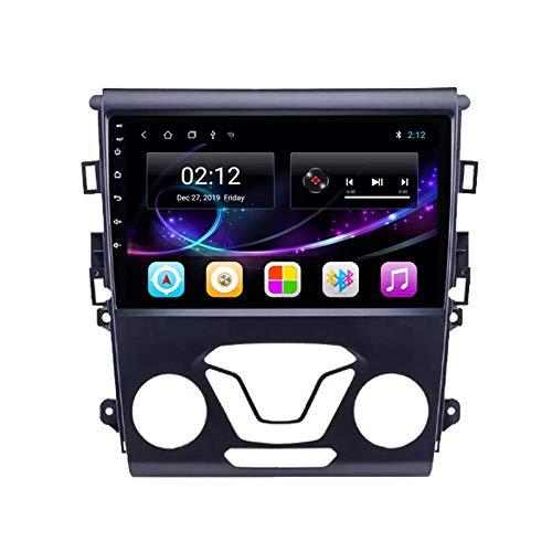 BD.Y Car Stereo, Car Stereo Android 10.0 Radio para Ford Mondeo 2013-2018 Navegación GPS Unidad Principal de 9 Pulgadas Pantalla táctil HD Reproductor Multimedia MP5 Video con WiFi DSP SWC Mirrorlink