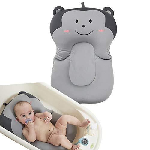 Baby Badekissen, KEEZSHOP Floating Anti-Slip-Bad Kissen weiche Sitzbadewanne Unterstützung für Neugeborene 0-6 Monate