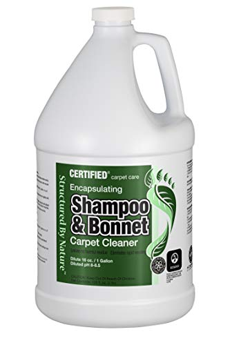 Nilodor Encapsulating Bonnet/Spin Shampoo Cleaner, 1 Gallon (128SBN SHP)