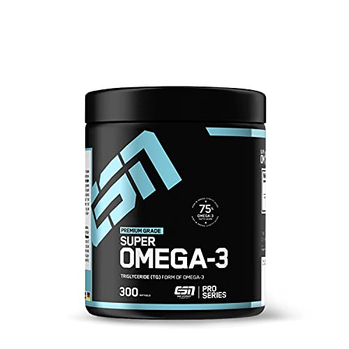 ESN Super Omega-3, 300 Omega 3 Kapseln