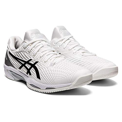 Product Image 2: ASICS Men's Solution Speed FF 2 Tennis Shoes, 10.5, White/Black