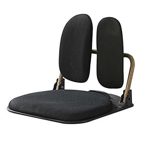 Outdoor klapstoel stoel gewatteerde opklapbare vloer stoel, japanse Tatami Legless stoel bed, opvouwbaar, Padded Floor stoel ondersteuning Yoga Meditatie lezen