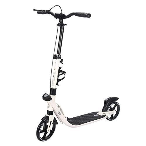 HYE-SPORT Kick Scooter para Adultos y Adolescentes, Sistema de Plegado de liberación rápida y 3 Alturas Ajustables, Juguetes de Equilibrio de Entrenamiento Pro Kick Scooter Regalos para niños