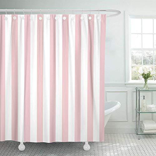 Aliyz Abstraktes klassisches rosa & weißes gestreiftes grafisches modernes Musterbadezimmer-Duschvorhang-Trennvorhang-Dekorationshaupt dauerhaftes müheloszu säuberndes wasserdichtes Gewebe