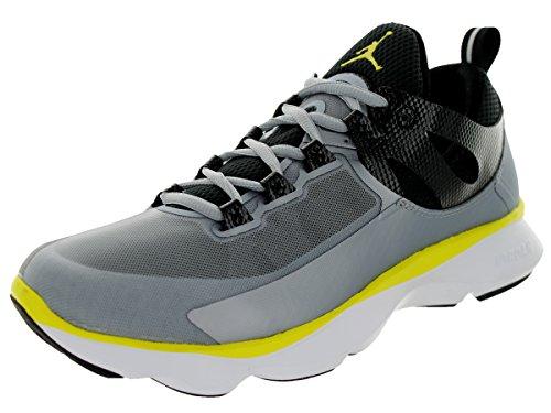 Nike Jordan Flight Runner Laufschuhe Sneaker silber/schwarz/gelb/weiß, Schuhgröße:EUR 47.5