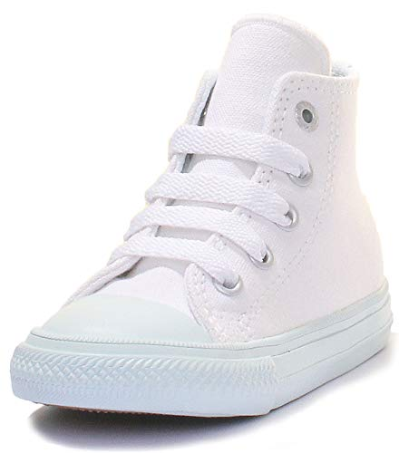 Converse Unisex-Kinder Chuck Taylor All Star II High Hohe Sneaker, Blau (hellblau hellblau), 21 EU
