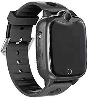 Doolland Smart klocka för barn, LBS GPS-spårare SOS samtal touchklocka för pojkar flickor kameraspel IP67 smartklocka komp...