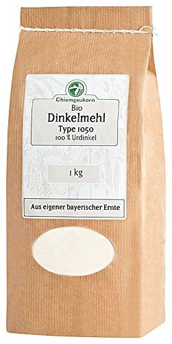 Chiemgaukorn Bio Dinkelmehl Type 1050 1 kg, Urdinkel