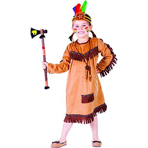 Dress Up America Costume de fille indienne Brave