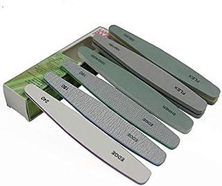 Multifunctional Nail Files, Gel nail file Set Professional Nail Buffer File Block Natural Manicure File Nail set 6pcs