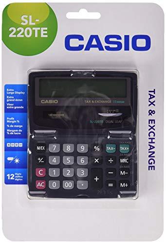 Casio SL-220TE - Calculadora básica, 65 x 120 x 141mm