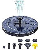 3.5W Solar Fountain Pump for Bird Bath, Ohuhu Upgraded Solar Powered...