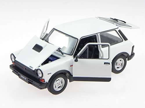 Autobianchi A112 Abarth 1979 weiss Modellauto Leo 1:24