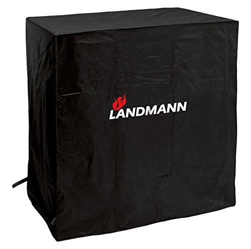 Landmann Quality - Wetterschutzhaube M, Aufbaum, Schwarz (Anthrazit), 85 x 100 x 50 cm