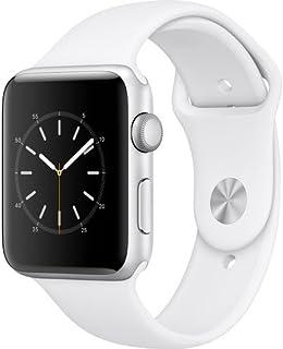 Apple Watch Series 2 - 42mm Aluminum Case, Rubber Band, White, MNPJ2LL/A