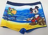 Disney Costume da Bagno Topolino Mickey Mouse Bimbo da 12 Mesi a 36 Mesi Originale ed Ufficiale da Mare Estate 2020 (18 Mesi)