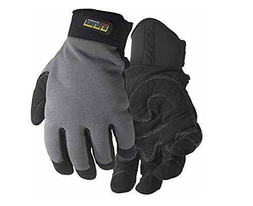 Blakläder 2234391499229 Handschuhe Handwerk, schwarz/khaki, 9