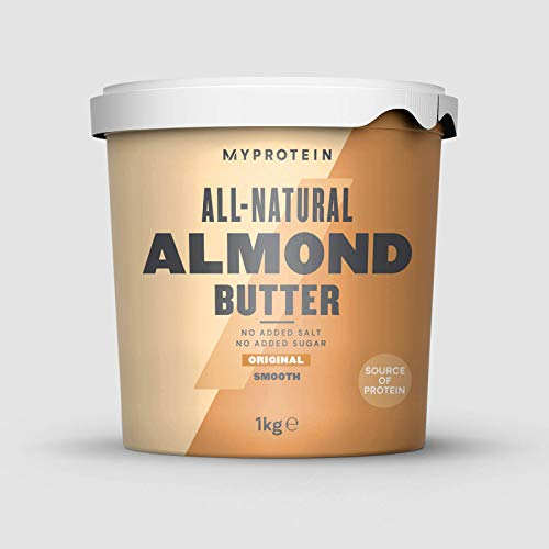 Myprotein Almond Butter Smooth Burro di Mandorle - 1000 gr