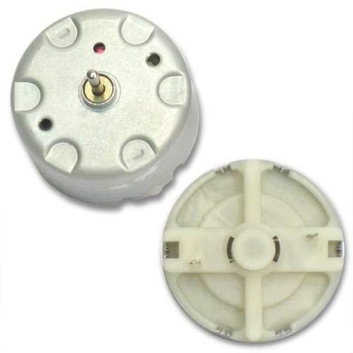 Advanced Electronics (TP #1) 2pcs Mabuchi RF-500 Motor - 1.5 to 12 VDC - Solar Motor - Mabuchi RF-500TB-12560