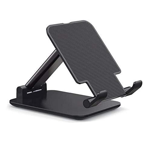 Haudang Soporte plegable para tablet, altura ajustable, universal, portátil, para escritorio