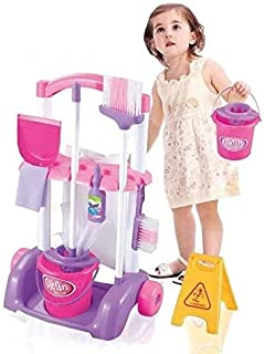 Babyfit Little Helper Pretend Play Housekeeping Cleaning Set Toy for Kids - 10 Pieces