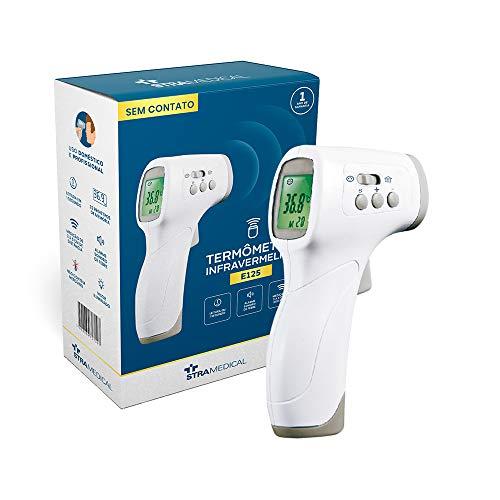 Termômetro Infravermelho Digital Sem Contato E125 Stra Medical